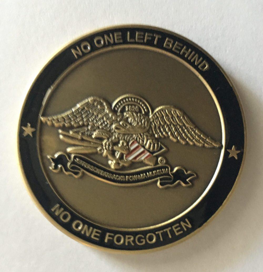 JB POW-MIA Museum Challenge Coin