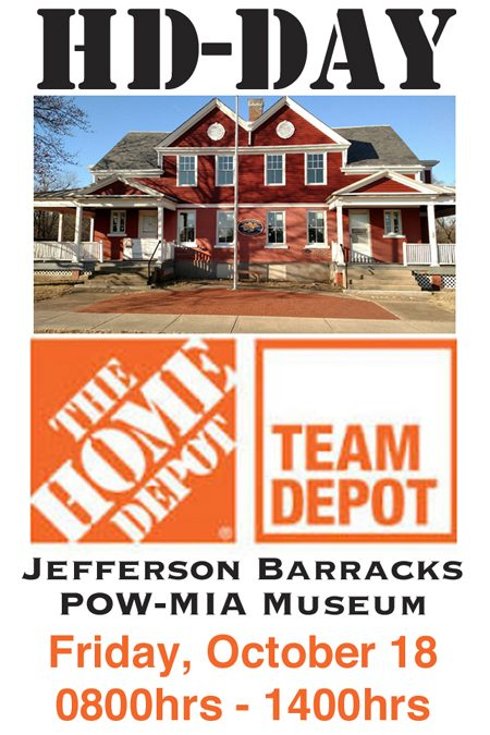 The Home Depot Foundation Helps Transform the Jefferson Barracks POW-MIA Museum